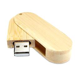 Giratorio de madera unidad Flash USB (USB-XH-001W)