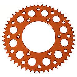 Aleación de aluminio CNC Dirt bike motos Pit Bike ruedas dentadas de cadena