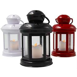 BS10 Popular Plástico Linternas de Decoración de Navidad