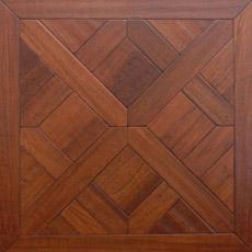 Piso de madeira laminado em madeira de laminação de parquet sólido