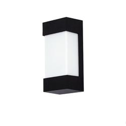 Luz de la pared exterior del certificado LED de ETL/cETL con la cubierta gris de bronce negra