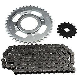Kit de cadena de la Motocicleta de piezas para CG125