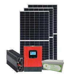 15W-9ah USB Function Solar Home System con Radio FM