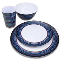 Высококонтрастный многоцветный пиктограммный OEM ужин меламина пластических масс