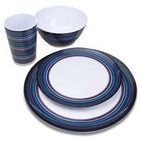 Dinnerware меламина комплекта обеда OEM Multicolor