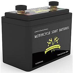 LiFePO4 Bateria para Motociclo