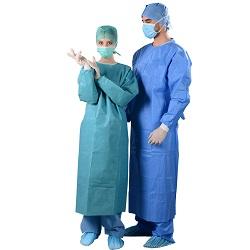 Fato-macaco microporosa descartáveis com certificado SGS/Branco Non-Woven casaco