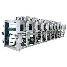 Máquina de impressão de rotogravuras BOPP \ Pet \ PVC e PE (ASY)