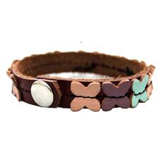 Moda pulseiras de couro Zwb mulheres14
