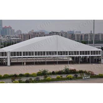 40x50m gran carpa de exposiciones y eventos tienda de campaña para la FERIA DE CANTÓN 124a.