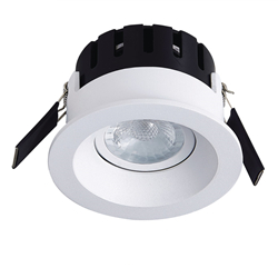 IP20 Bisel Fijo Variable GU10 LED Downlight para Fuego