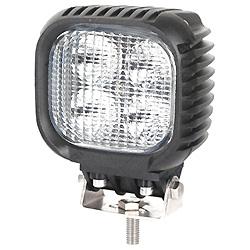24V impermeável LED quadrada de spot trabalho luz de condução de motociclos