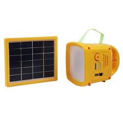 Luz Solar Portátil de la Linterna de Campaña del LED con Multifunciones