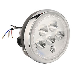 LED de Peças de Moto Encaixa para Farol de Motocicleta Ybr125