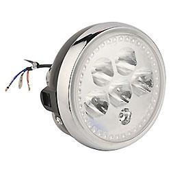 LED de Piezas de Motocicleta Se Ajusta a los Faros de Motocicletas Ybr125