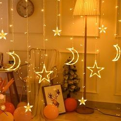 Cadena de la Luz Solar al Aire Libre de Burbujas de LED de 30 Luces LED Decorativas de Navidad