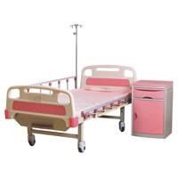 Dos médicos ajustable Función de la cama del paciente de plegado cw-A0006