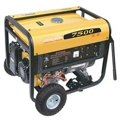Groupe électrogène à essence 6kw Approuvé CE démarrage électrique (WH7500 / E)