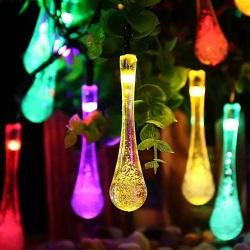 10PCS Decoração de Árvore de Natal Estilo Casa de Fadas LED Luz de String