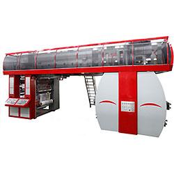 6 Cores Impressora Flexográfica Cl