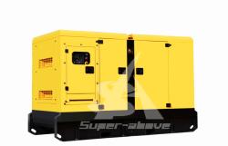 10-2500kVA avec l'ISO d'urgence Certificaton ouvert générateur de puissance en mode silencieux