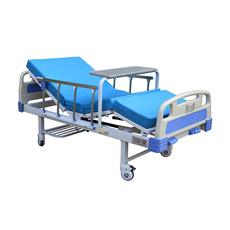 Cama de hospital manual hidráulica ajustable (CE&FDA)