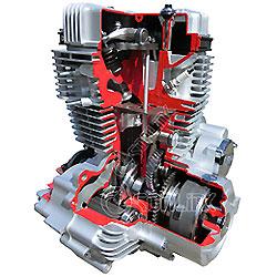 Cg200-Ntt Potente Motor de Moto