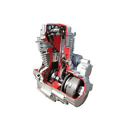 125cc Cg motocicleta motor