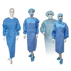 Não Tecidos médico cirurgião bata descartável