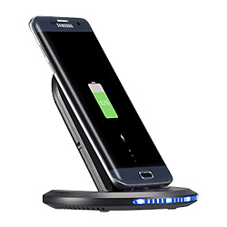 Multi-Angles быстрое беспроводное зарядное устройство док-станция для iPhone с питанием от батареи быстрая зарядка блока