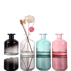 Botella de Perfume de Cristal Blanca de Lujo Clara Vendedora Caliente para los Hombres y las Mujeres