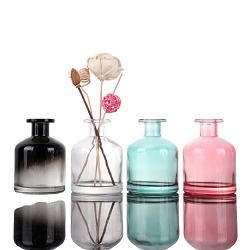Luxo personalizado isqueiros de cristal vaso de perfume de vidro com pulverizador da Bomba