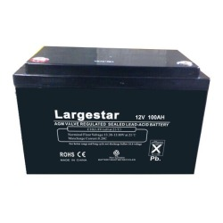 12V 100Ah Bateria solar de gel