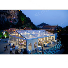 Tarnsparent Tent pour Outdoor Party, Wedding