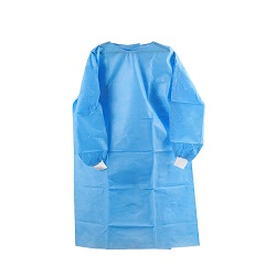 Imperméable/médical/hôpital chirurgical/plastique/polyéthylène/poly/PE/PP+PE/PP/SMS//polypropylène global non tissés jetables jetables Robe de protection, coverall