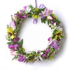 Guirnaldas guirnaldas de flores de la cabeza de partido, el desmalezado (YM-FG1)