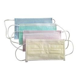 Máscara facial não tratada de 3,5 polegadas descartável para médico / hospital