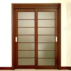 A porta corrediça de alumínio