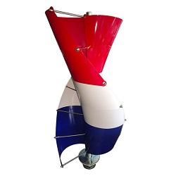 300W горизонтальной оси фиксированные ножи ветровой турбины генератора