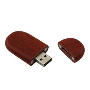 De gama alta grabar el palo de rosa de madera a granel de los mecanismos impulsores del flash del USB del palillo 1GB