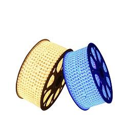 Venda por grosso de iluminação RGBW à prova de CCT PI68 exterior de silicone flexível de LED de luz da Corda