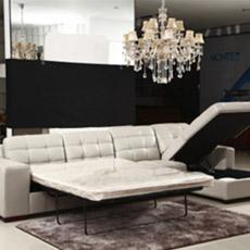 Chaise Lounge Canapé-lit, Canapé d'Angle avec Rangement