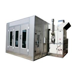 Cabine de pintura por spray automático com ventilador de Admissão e Escape