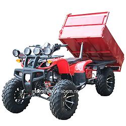 250cc la granja ATV con elevador automático tráiler