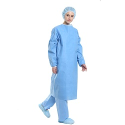 Ce/FDA/ISO Blouse chirurgicale standard non tissés jetables