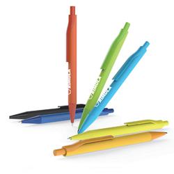 2018 Novo Projeto Bola de plástico promocional caneta de publicidade com o logotipo da caneta