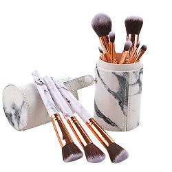 Top de linha da venda quente o logotipo personalizado 6 PCS Escovas de maquiagem Cosméticos