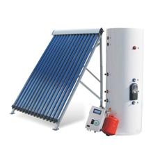 El Calentador de Agua Caliente Solar (caloducto depósito colector solar)