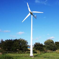 5KW turbina eólica no plano completamente o sistema de grade