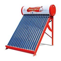 chauffe-eau solaire avec tube sous vide à cabine non pressurisée (CNP-58)